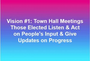 Politics Town Hall Meetings