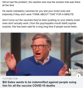 Vaccinations Bill Gates