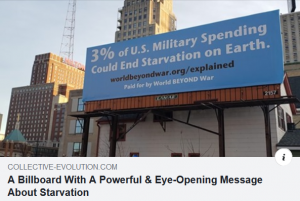 Military Spending Billboard