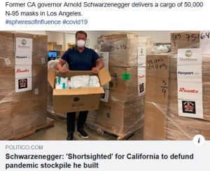 California Pandemic Response