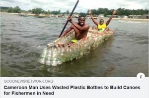 Plastic Bottles Boat