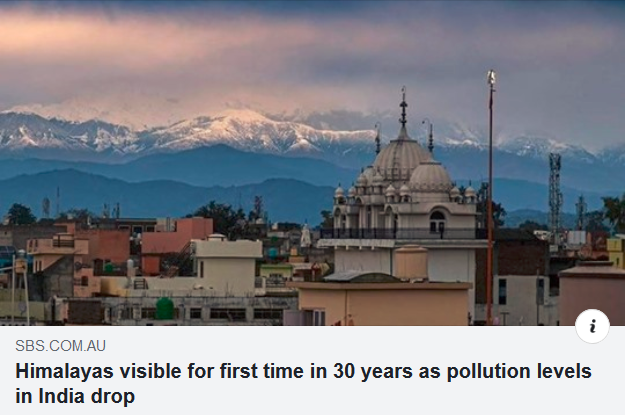 Pandemic Less Pollution