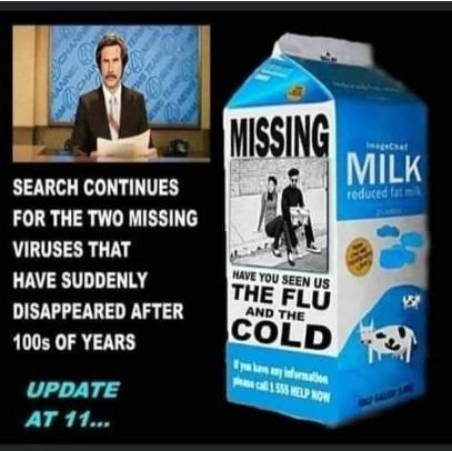 Missing Flu Cold
