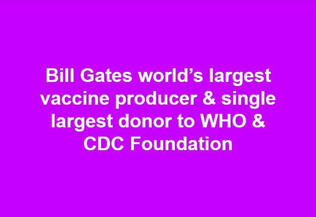 Bill Gates Donations