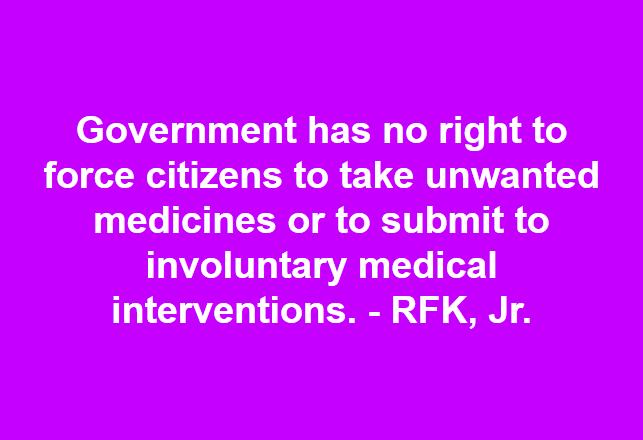 Involuntary medical intervention