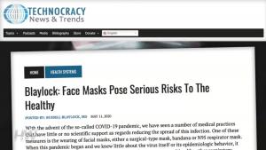 Masks health risks