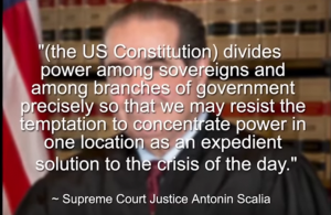 Supreme Court Justice Scalia