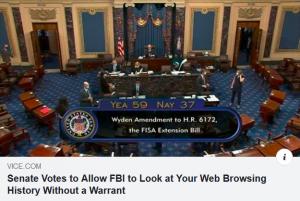 FBI web no warrant