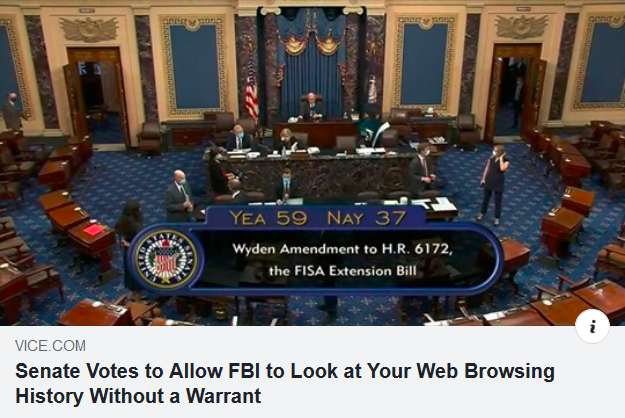 FBI web no warrant