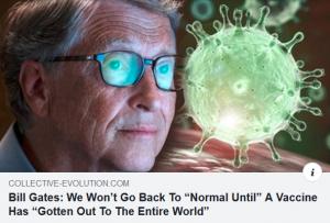 Gates Vaccine Entire World