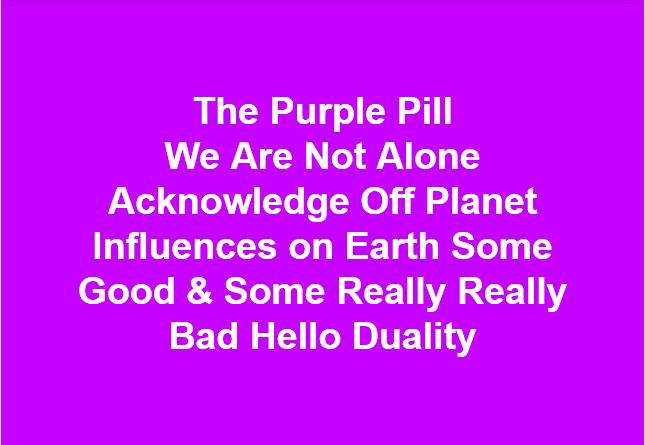 Purple Pill