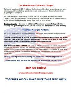 Make Americans Free