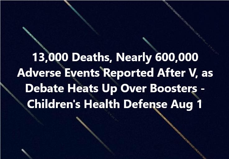 Vaccine deaths