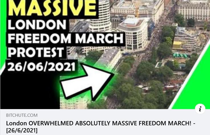 London Freedom Rally
