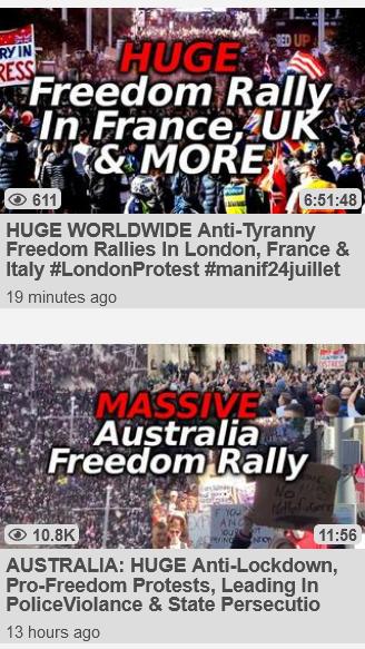 Freedom Rallies