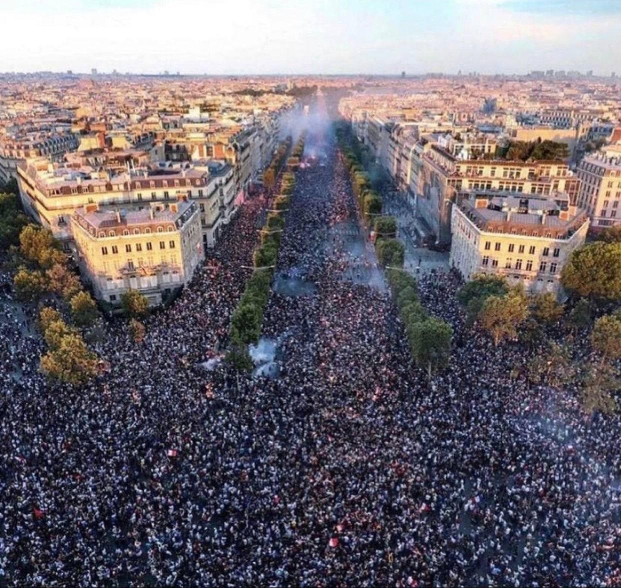 Paris July 2021