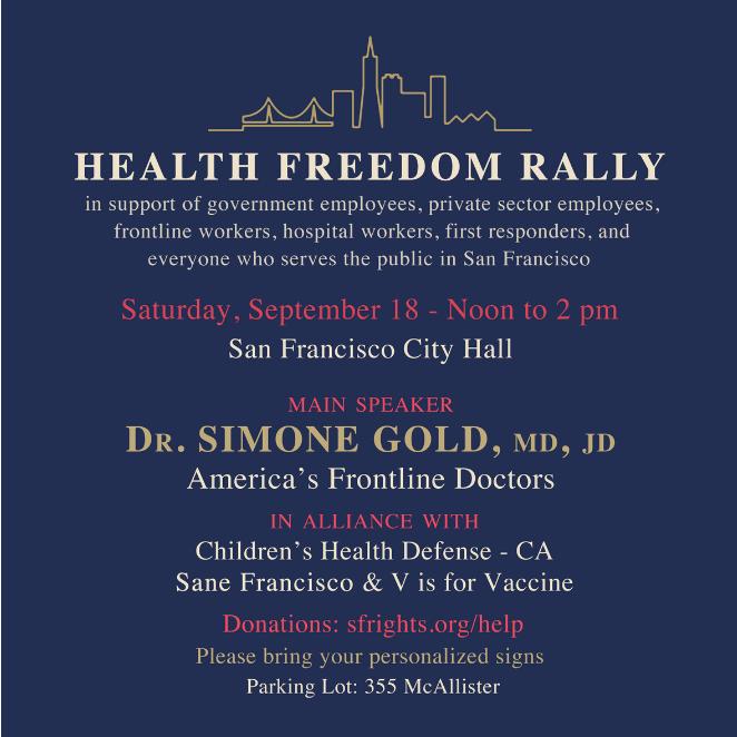 San Francisco Freedom Rally