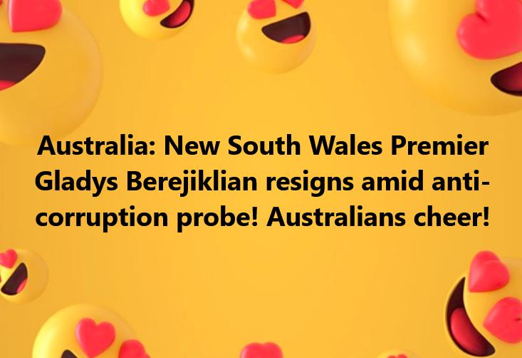 Australian Premier Resigns
